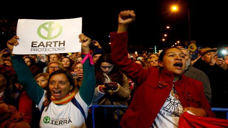 Madrid'den 'iklim' çağrısı: Harekete geçin