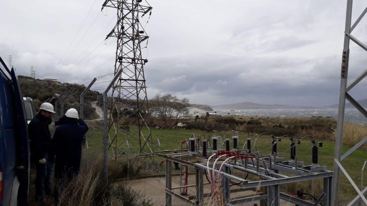 Marmara Adası'na 53 saat sonra elektrik verilmeye başlandı
