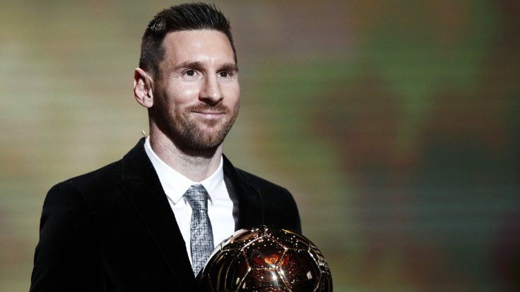 Altın Top Messi'nin