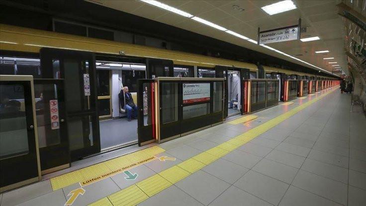 Metrodaki arıza gideriliyor