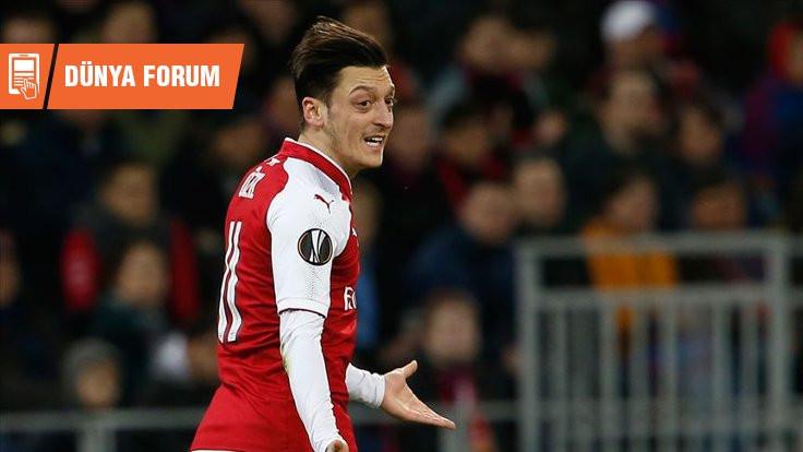 Mesut Özil: Alkışlayanı da var kınayanı da