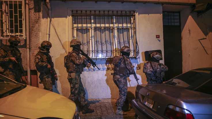 Narkotik operasyonu: 103 gözaltı