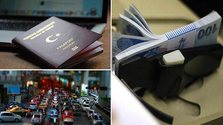 Pasaport ve ehliyet ücretine yüzde 22 zam