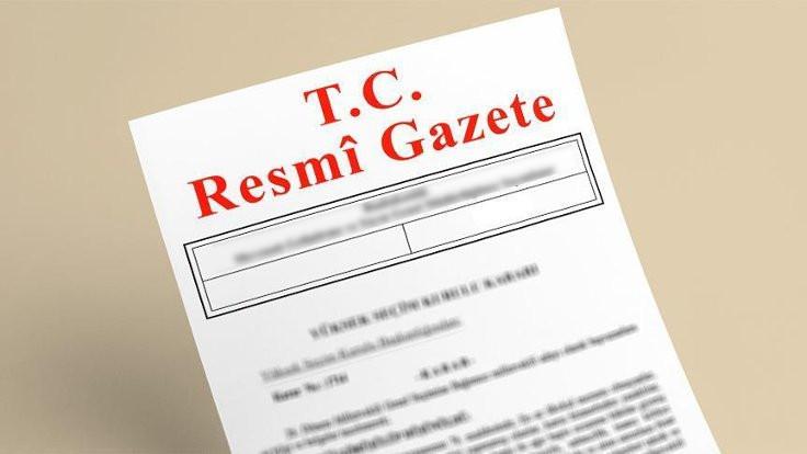 Resmi Gazete'de personel ilanları
