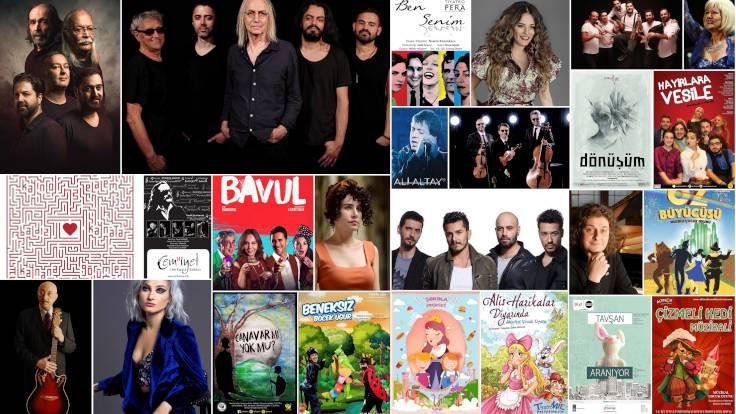 İBB'den 17 konser, 35 oyun