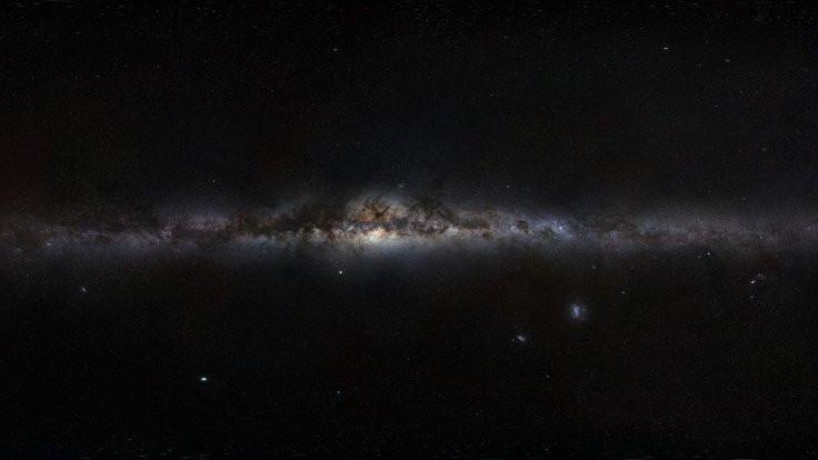Samanyolu 890 milyar Güneş büyüklüğünde