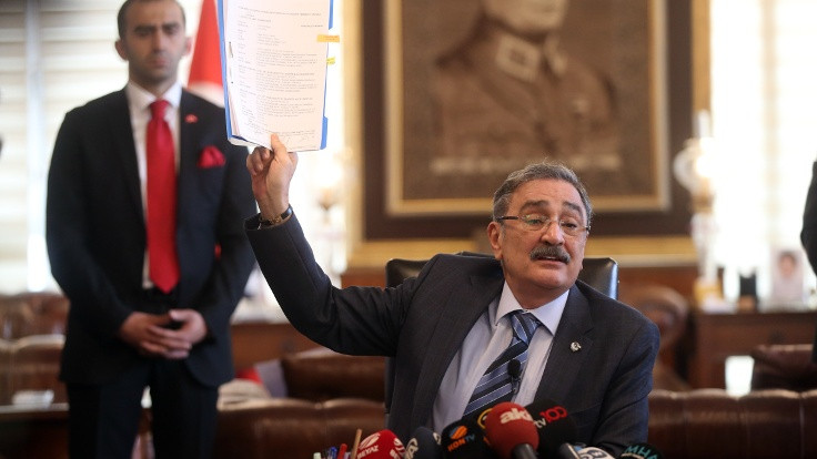 Bakanlık müfettişleri Sinan Aygün'den bilgi aldı