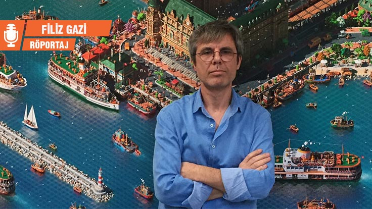 Tarık Tolunay, İstanbul'u nokta nokta resmediyor