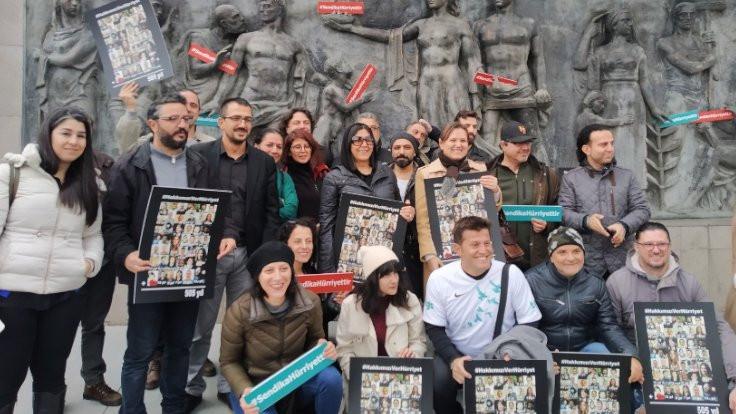 Gazetecilerden Hürriyet'e: Hakkımızı verin