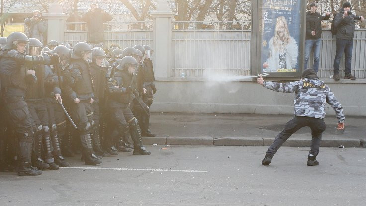 Ukrayna'da yeni yasa çiftçiyi sokağa döktü