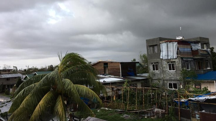 Ursula Tayfunu Filipinler'i vurdu: 28 ölü