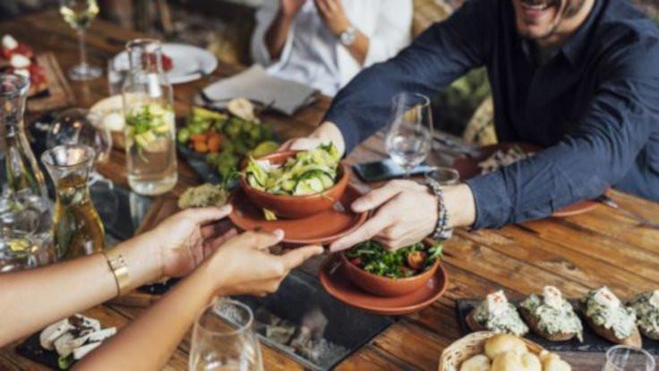 Türkiye'nin yüzde 40'ı dışarıda yemiyor