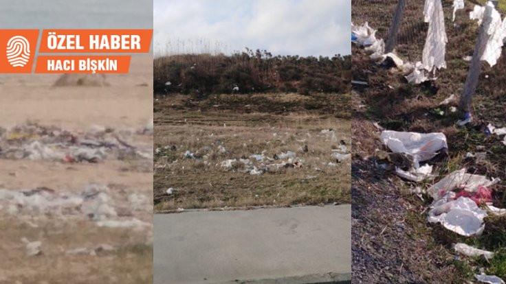 Arnavutköy'de kirlilik alarmı: Dağ taş çöp oldu