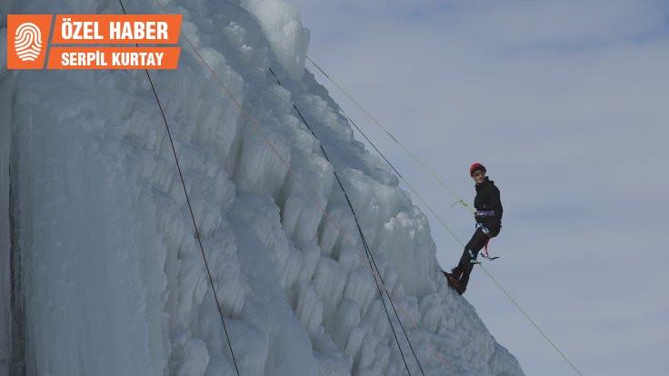 Türkiye'de ilk: Buzdan duvara tırmanacaklar