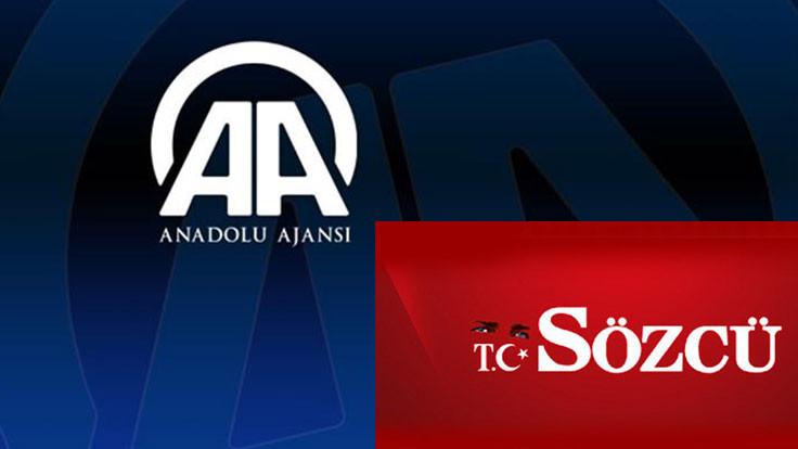 AA, Sözcü'nün aboneliğini iptal etti