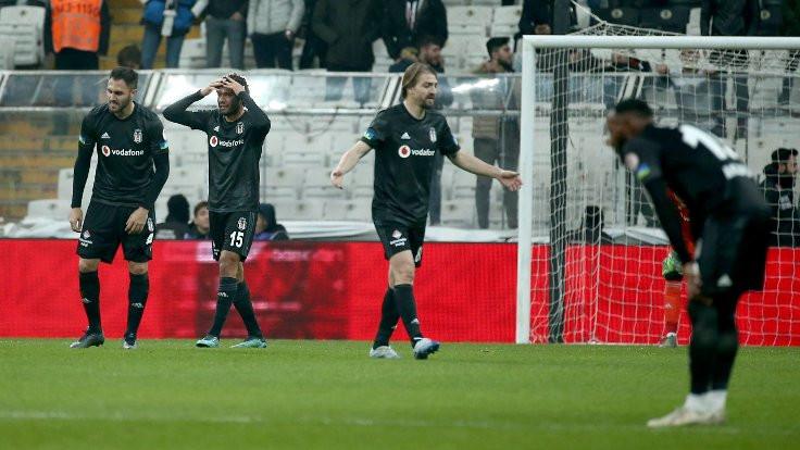 Erzurumspor Beşiktaş'ı eledi