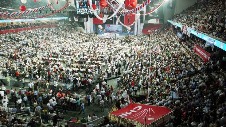 CHP kurultayı Bilkent'te yapılacak
