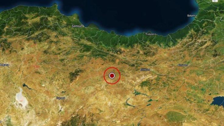 Sivas'ta deprem: Büyüklük 3.7