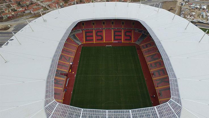 Stadyum kullanımına ara