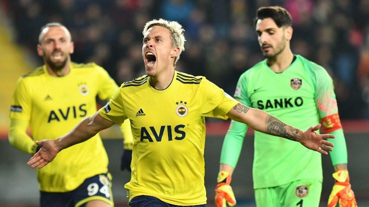 Fenerbahçe, ligin ikinci yarısına 3 puanla başladı