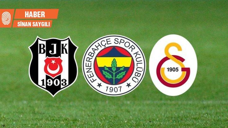 Galatasaray, Fenerbahçe, Beşiktaş batık durumda