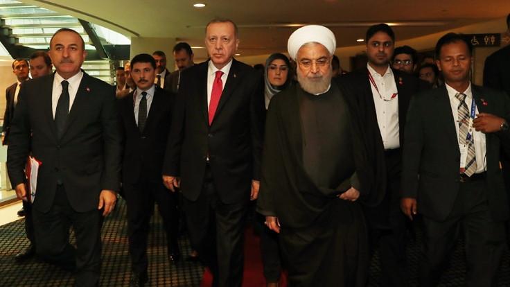 Erdoğan, Ruhani ve Salih'le görüştü