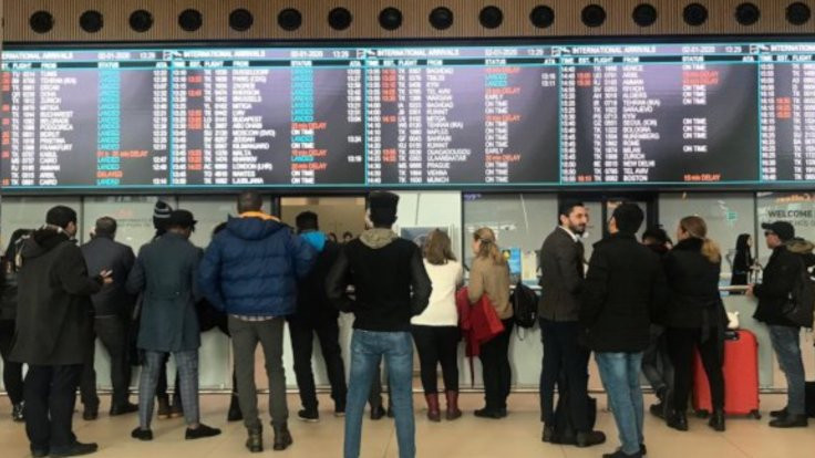 'Havalimanında acenteler haraca bağlandı'