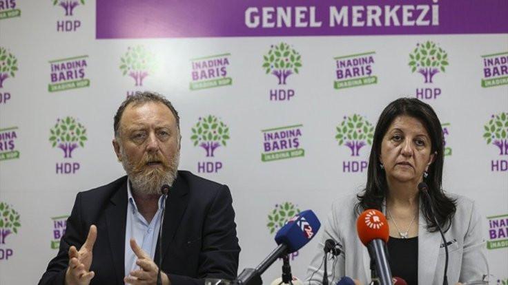 HDP Eş Genel Başkanları için fezleke