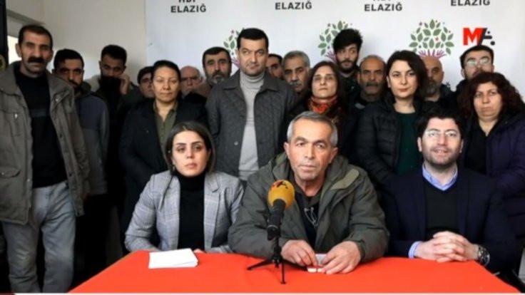 HDP heyeti: Yardımları yakınlarına vermişler