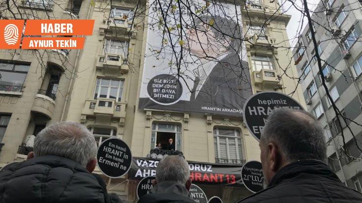 Hrant Dink anıldı: Utanmak için geç değil