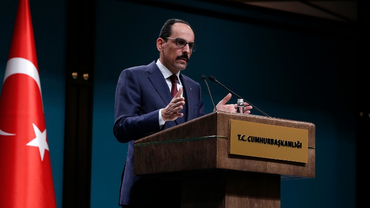 Kalın: Libya'da önceliğimiz ateşkes olması