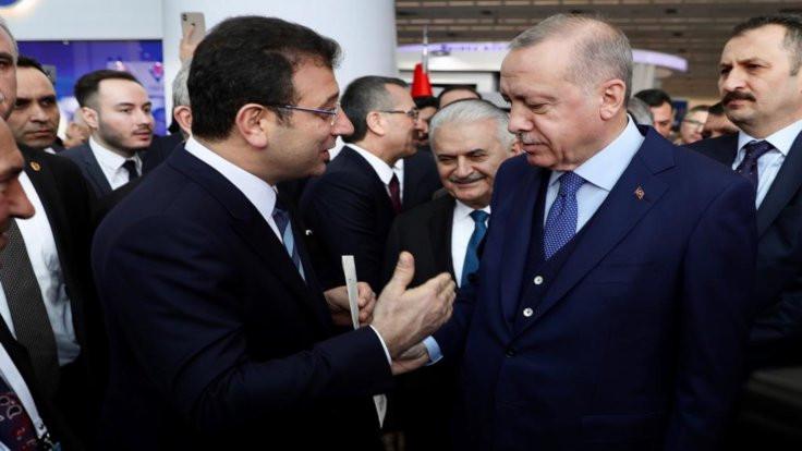 CHP'li başkanlar toplantıyı protesto etti