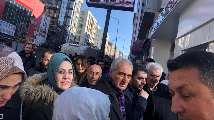 HDP'li üyeler toplantıya alınmadı