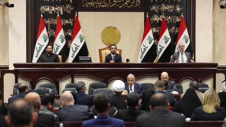 Irak parlamentosu, ABD askerlerinin ülkeden çıkarılmasını öngören yasa tasarısını onayladı