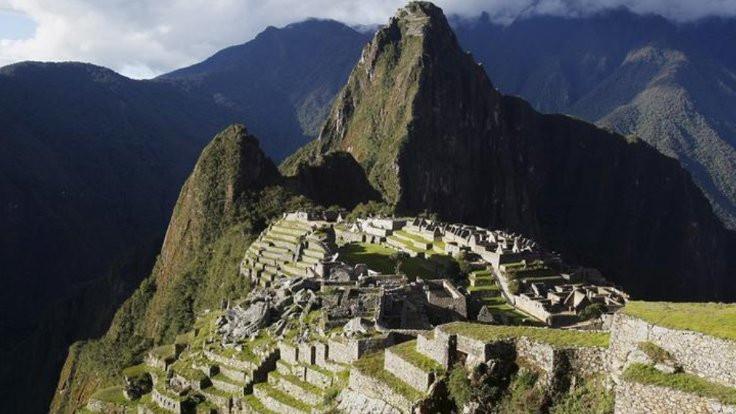 Machu Picchu'yu 'pislettiler'