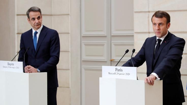 Macron'dan Türkiye'ye Libya suçlaması