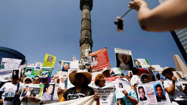 Meksika'da uyuşturucu ile mücadelede 60 bin kişi kayıp