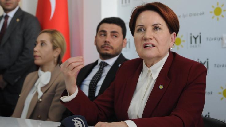 Akşener: Seçime Tayyip Bey karar verecek