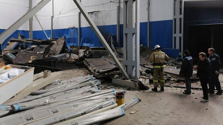 Rusya'da fabrikada patlama