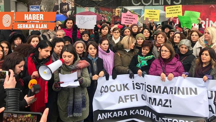 Kadınlar 'Çocuk istismarına af'a karşı sokağa çıktı