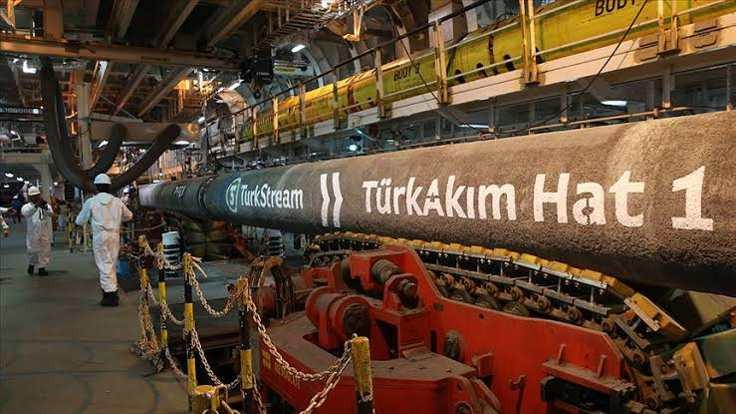TürkAkım'dan Avrupa'ya gaz akışı başladı