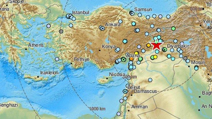 Elazığ depremi 6 ülkede hissedildi