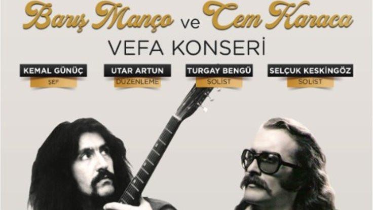 'Vefa Konseri' 9 Şubat'ta