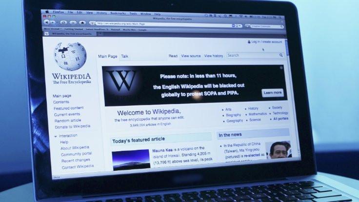 Wikipedia artık erişime açık