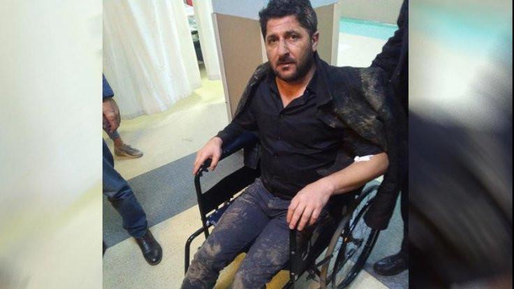 Polis HDP'li eski başkanı evinde darp etti