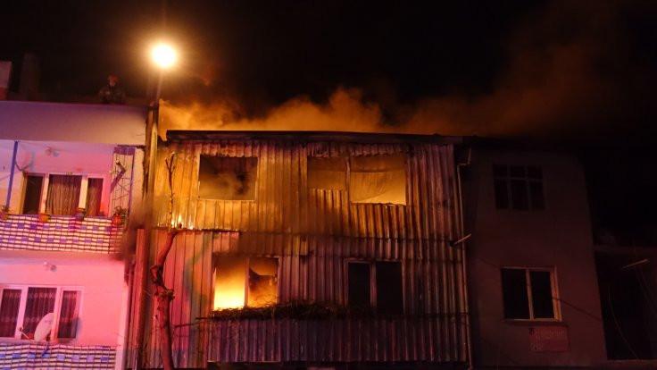 Bursa ve Ankara'da yangın