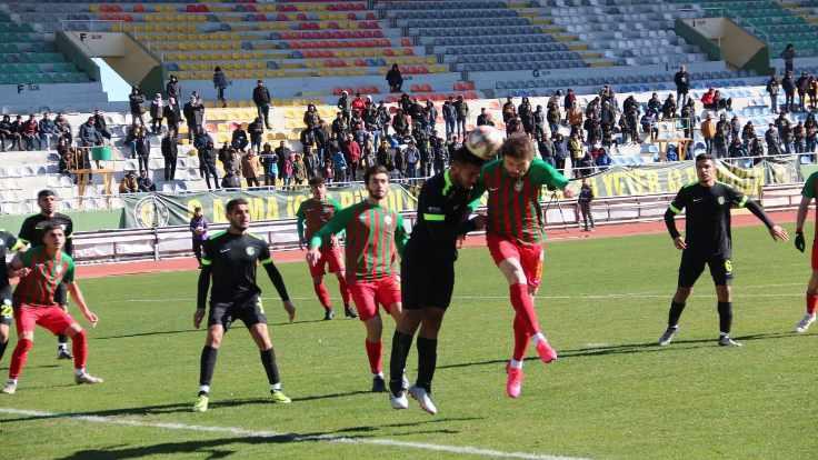Amedsporlu Üstün Bilgi 4 gol attı