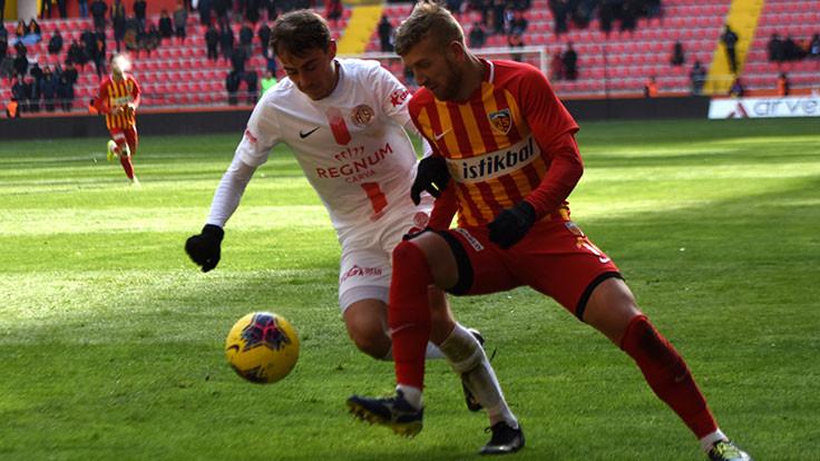 Kayseri'de kazanan çıkmadı: 2-2