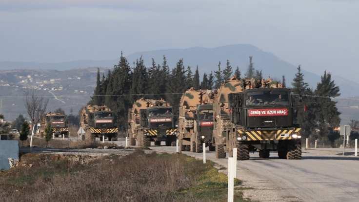 İdlib'e yoğun askeri sevkiyat