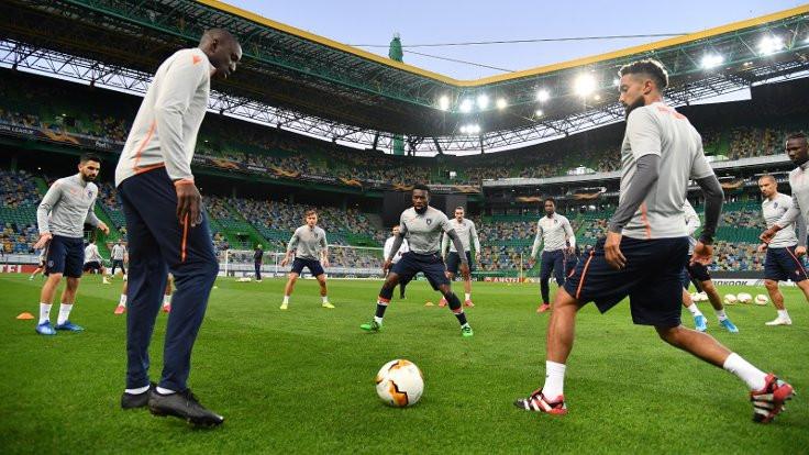 Sporting Lizbon-Medipol Başakşehir maçının ilk 11'leri belli oldu